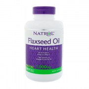 Льняное масло Natrol Flaxseed Oil 1000 мг  (200 капс)