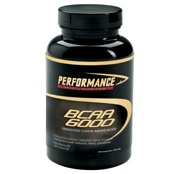 BCAA Performance BCAA 6000  (100 таб)