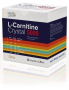 Л-карнитин в ампулах Liquid & Liquid  L-Carnitine Crystal 5000  (25 мл)