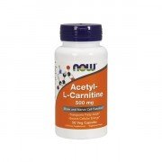 Л-карнитин NOW Acetyl-L-Carnitine 500 мг  (50 капс)