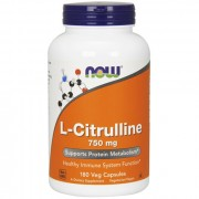 Цитрулин NOW L-Citrulline 750mg  (180 caps.)