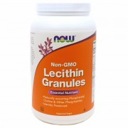 Лецитин NOW Lecithin Granules  (454 г)