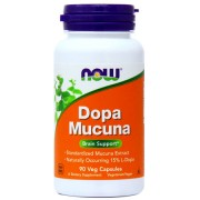 Ноотропы NOW Dopa Mucuna  (90 caps.)