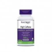 Кофеин Natrol High Caffeine   (100t.)