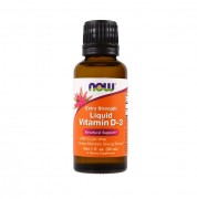 Витамин Д3 NOW Vitamin D3 Liquid 1,000IU(25mcg)   (30ml.)